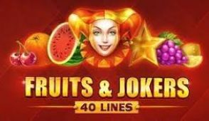 Fruits and Jokers 40 lines
